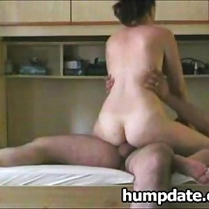 Horny wife rails dick and gets hard doggystyled
