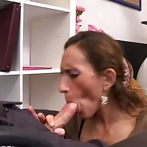 Adorable milfs are porn industry star for a day! Vol. 4