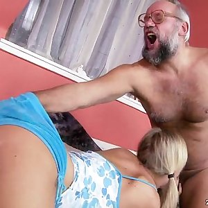 Sunny Diamond, The Old Perv and the Young Fuckslut