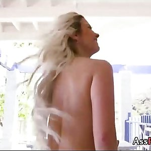 Alana Luv - Blonde Milfs Anal Experiment