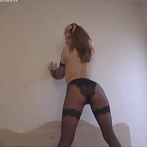 Adorable Chole Shows Off Her Sexy Pantyhose, Inexperienced Fetish