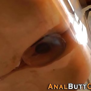 Fetish sluts ass butt plugged