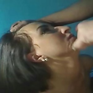 German Teen in Homemade Suck off Video after Party