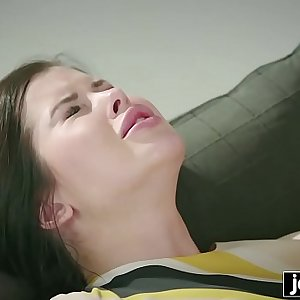 JOYMII horny Cassie Fire wants friends cum