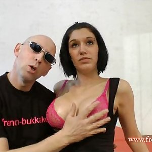 kenza sucke casting french bukkake