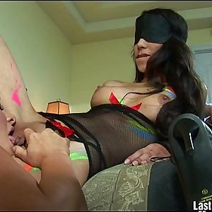 Three Sexy Ladies Playing And Licking Pussy