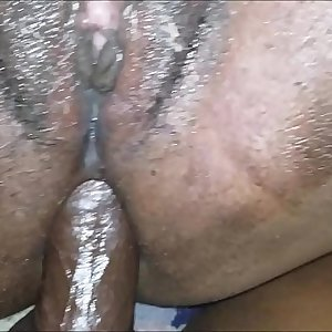 MY STEP DAUGHTER TAKES MY DICK IN HER ASS AND BEGS DADDY TO CUM UP HER BUTT Anal invasion