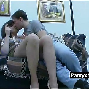 Lovable Crispy Astonishing Pantyhose Milf Fucked