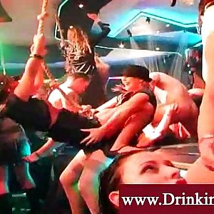 Ladies night out turns into an orgy