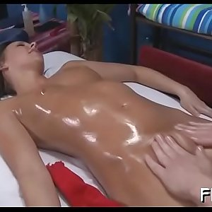 Sexy chick plays with shlong then gets bitchy hard