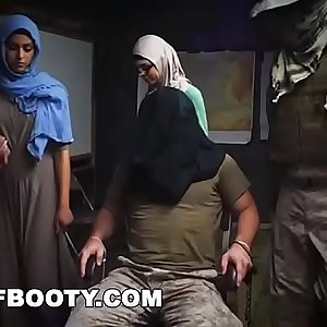 TOUR OF BOOTY - Rag Tag Soldiers Fuck Their Way Thru The Middle East
