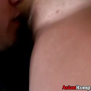 Very Pretty Asian Ex Girlfriend Lana Violet Sucking Dick Point Of View