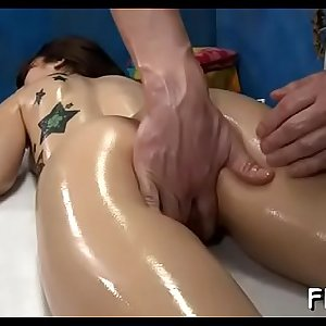 Magic throat and sweet snatch of girlie are banged very hard