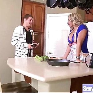 Gonzo Scene With Big Juggs Housewife (olivia austin) mov-25