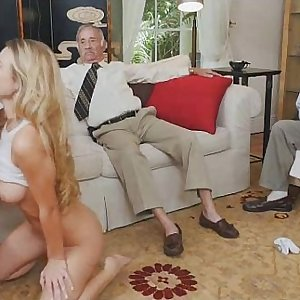 Light Haired Teenage Molly Mae Loves Sucking Older Dink