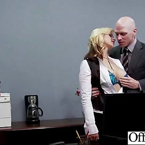 Hook-up Tape With Real Sluty Big Tits Office Girl (sarah vandella) movie-28