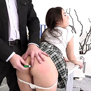 FuckStudies.com - Little Candy - Lazy student gets anal orgasm as penalty
