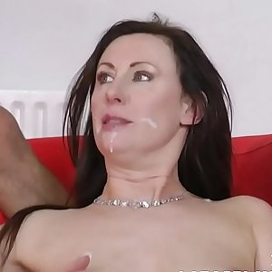 English milf pipe fitted by cheeky plummer