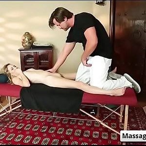 Tricked into sex massage with Devyn Heart and Jake Jace video-03