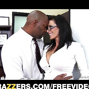 Big-tit lawyer Shay Sights daydreams about fucking her chief