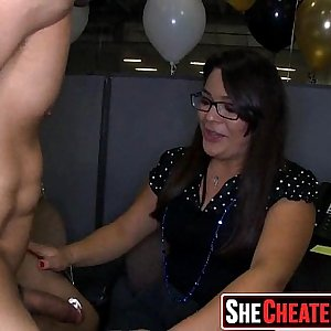 21 Sex in the club at cfnm soiree 31