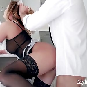 Punishing The Mylf Maid