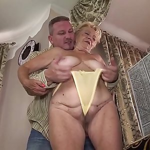 hairy 89 years old granny rough fucked
