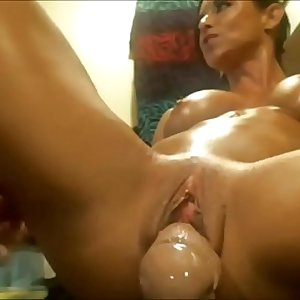 Two Dildos beautiful squirt jrabbit81
