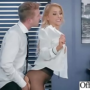 Sex In Office With Horny Busty Slut Girl (Alix Lynx) video-03