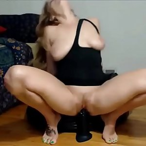 Amateur Cammer Dildos Squirts  -  Watch Part 2 at FilthyGeek.com