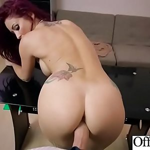 (Monique Alexander) Office Slut Girl With Big Melon Tits Like Sex clip-20