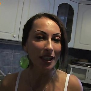 Real fledgling milf ass fucking fucking on home