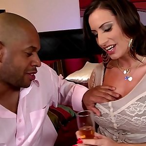 Early days Interracial for Chesty Sex Goddess Sensual Jane