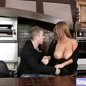 (kianna dior) Lovely Big Melon Tits Milf Love Sex mov-20