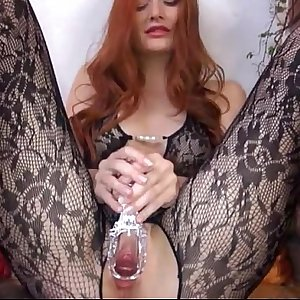 1-Gyno vGyno vibrator in her huge redhead vagina5-059