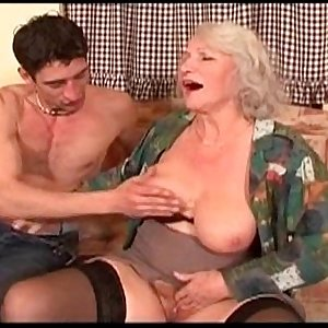 Horny MILF Fucked Outside 16