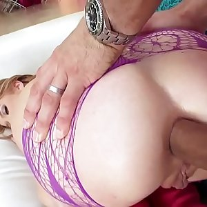 Oh, Sweet Arya Faye Gets both Holes Played with