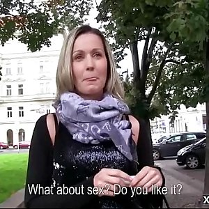 Amateur European Slut Fucks For Money - Public Pickups 09