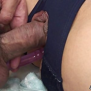 Captivating Japanese chick yells while being dicked hard