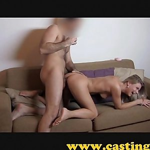 Casting - Fit chick loves the shaft