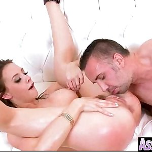 (chanel preston) Curvy Big Oiled Butt Girl In Hard Style Anal Action mov-09