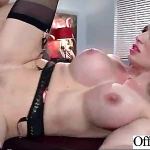 Xxx Hook-up With (veronica vain) Lady With Big Boobs In Office clip-30