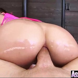 Curvy Big Butt Girl Get Oiled And Bitchy In Ass mov-25