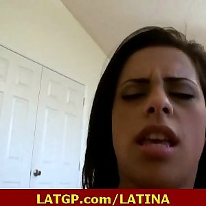 Sexy latina learning how to get fucked real hard 10