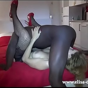 Sex Challenge 9 More Days ( Gangbang - Interracial) )