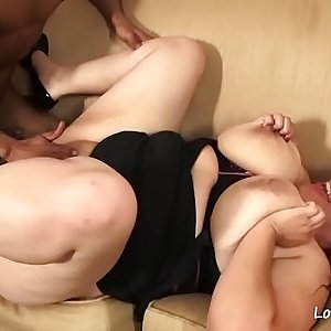 Big black cock for a beautiful brunette chick