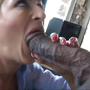 Monster Black Cock Interracial