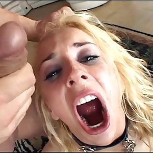 Kinky group sex in fishnet stockings and gloves