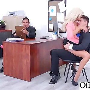 Hot Nasty Cute Girl (Olivia Fox) With Big Juggs Like Sex In Office vid-28
