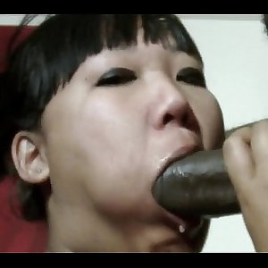 Katie Lee Deep throats Slurps-N-Rides The Black Anaconda